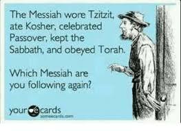My Messiah wore... Pic 3 (White Background)