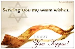 Day of atonement in hebrew yom kippur yahushua ha mashiach sending you my warm wishes happy yom kippur m4hsunfo