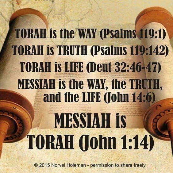 TORAH IS THE WAY...