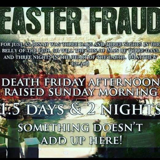 Easter Fraud Image