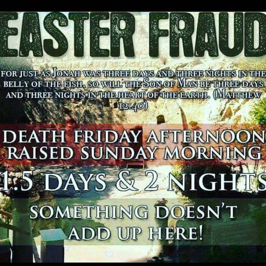 Easter Fraud Image