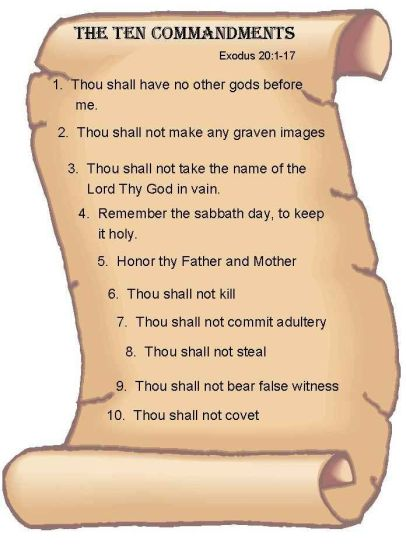 6827ddfee99de347c58ef7273ff4c2a9 - ten commandments on a scroll