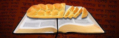 BREAD ON BIBLE image